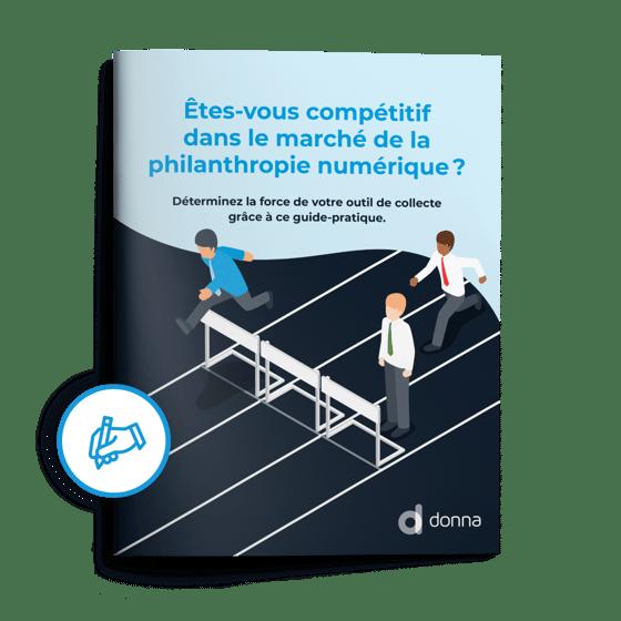 Image du guide « Êtes-vous compétitif dans le marché de la philanthropie numérique? »